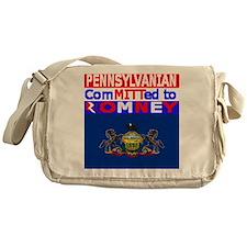 pennsylvaniaromneyflag.png Messenger Bag