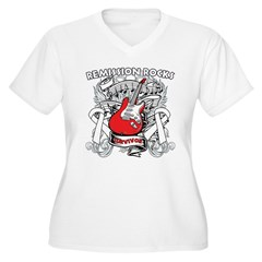 Remission Rocks Bone Cancer T-Shirt