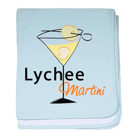 Lychee Martini baby blanket
