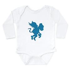 Flying Monkey Long Sleeve Infant Bodysuit