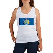 New York State Flag Women's Tank Top