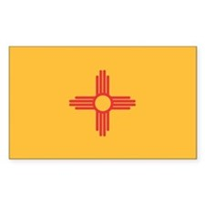 New Mexico State Flag Decal