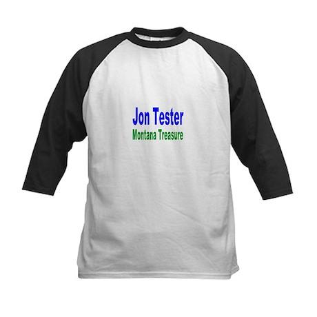 Jon Tester, Montana Treasure Kids Baseball Jersey