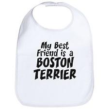 Boston Terrier FRIEND Bib