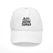 Boston Terrier FRIEND Baseball Cap