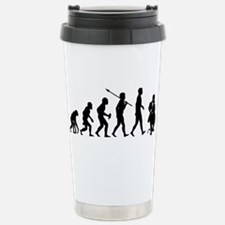 Cello Player Stainless Steel Travel Mug