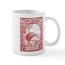 1936 New Zealand Kiwi Stamp Mug