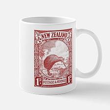 1936 New Zealand Kiwi Stamp Small Mugs