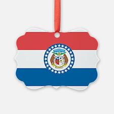 Missouri State Flag Ornament