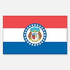 Missouri State Flag Decal