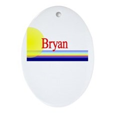 Bryan Oval Ornament