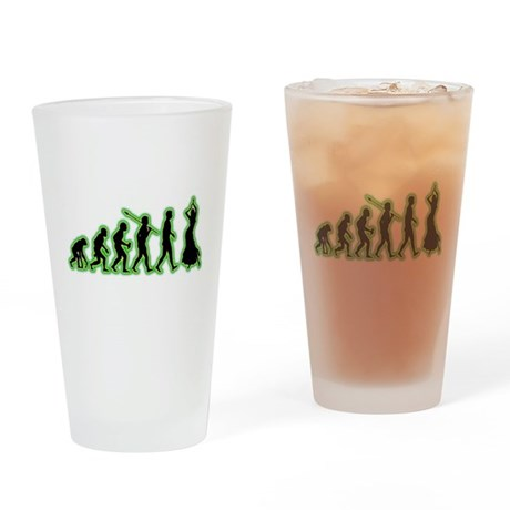Belly Dancing Drinking Glass