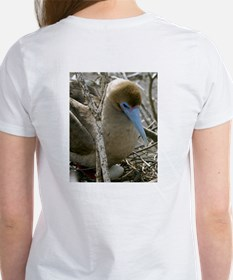 Birds of Galapagos - Women's T-Shirt flamingo