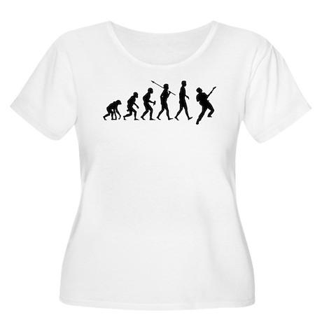 Guitar Player Women's Plus Size Scoop Neck T-Shirt