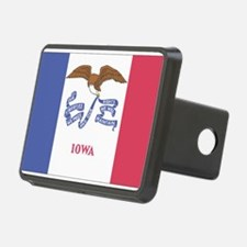 Iowa State Flag Hitch Cover