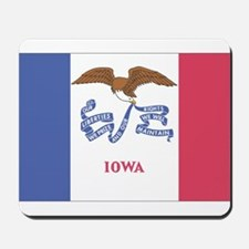 Iowa State Flag Mousepad