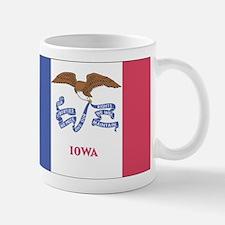Iowa State Flag Small Small Mug