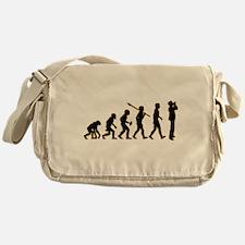 Harmonica Player Messenger Bag