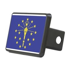 Indiana State Flag Hitch Cover