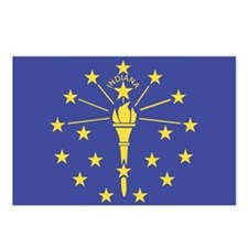 Indiana State Flag Postcards (Package of 8)