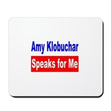 Amy Klobuchar, US Senate Mousepad