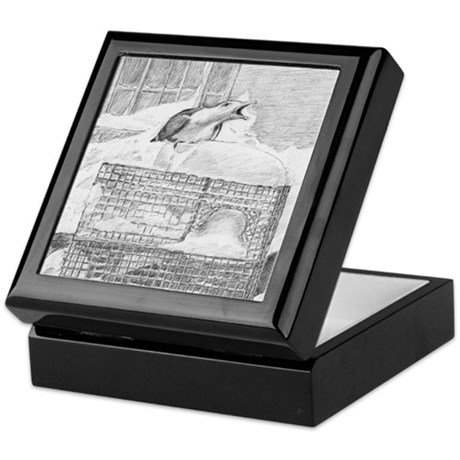 Winter Gull Keepsake Box