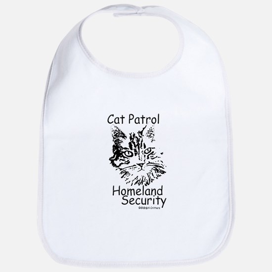 Paws4Critters Homeland Security Cat Patrol Bib