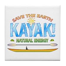 Kayak Energy Tile Coaster