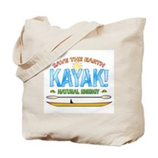 Kayak Energy Tote Bag