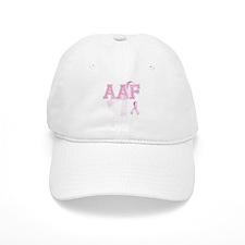 AAF initials, Pink Ribbon, Baseball Cap