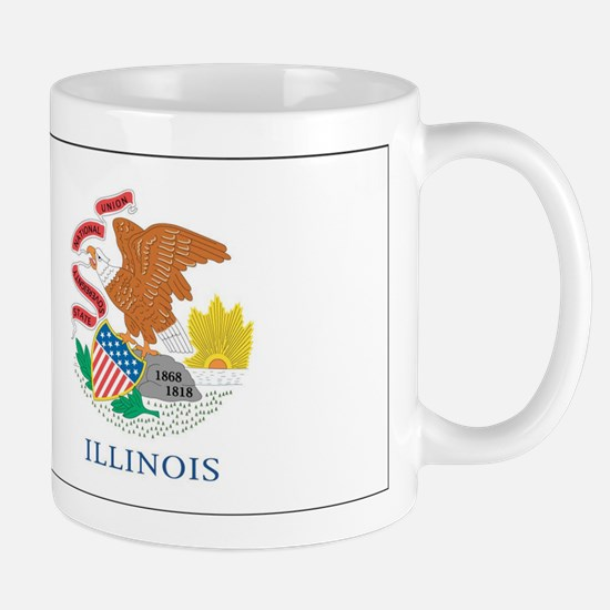 Illinois State Flag Mug