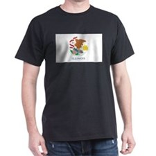 Illinois State Flag T-Shirt