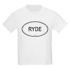 Ryde oval Kids T-Shirt