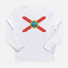 Florida State Flag Long Sleeve Infant T-Shirt