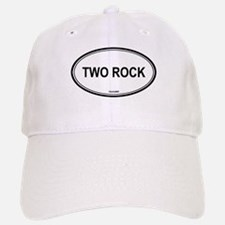 Two Rock oval Baseball Baseball Cap