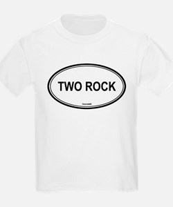 Two Rock oval Kids T-Shirt