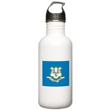 Connecticut State Flag Water Bottle