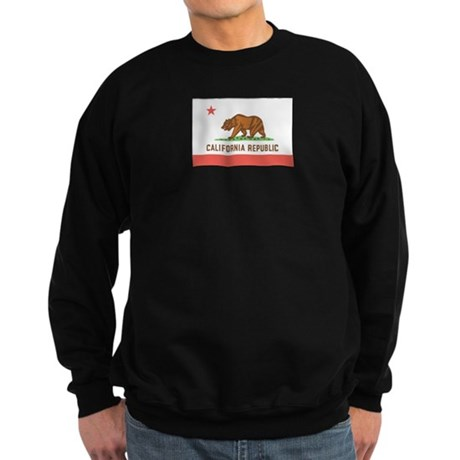 California State Flag Sweatshirt (dark)