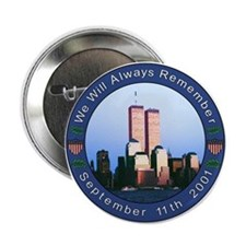 Tribute to 9/11 Button
