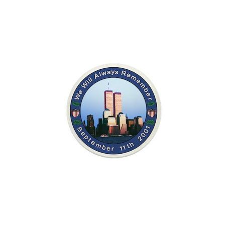 9-11 Memorial Mini Button