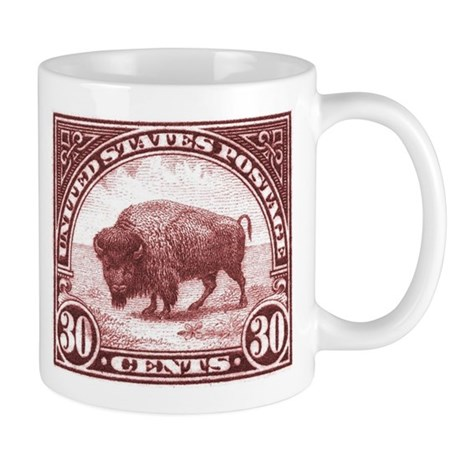 1923 American Buffalo Stamp Mug