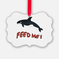 Killer Whale - Feed Me Ornament