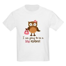 Big Sister to be - Mod Owl T-Shirt