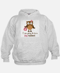 Big Sister to be - Mod Owl Hoodie