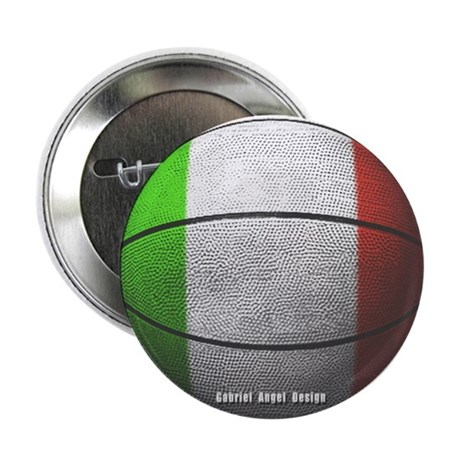 Italian Basketball Button