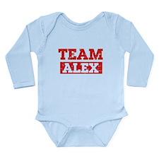 Team Alex Long Sleeve Infant Bodysuit