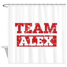 Team Alex Shower Curtain