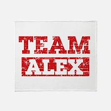 Team Alex Throw Blanket