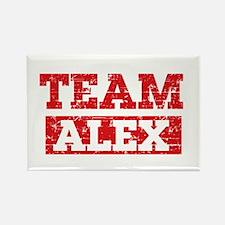 Team Alex Rectangle Magnet