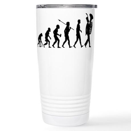 Tuba Player Stainless Steel Travel Mug